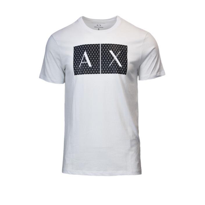 Armani Exchange Men's T-Shirt White 166096 - white XS