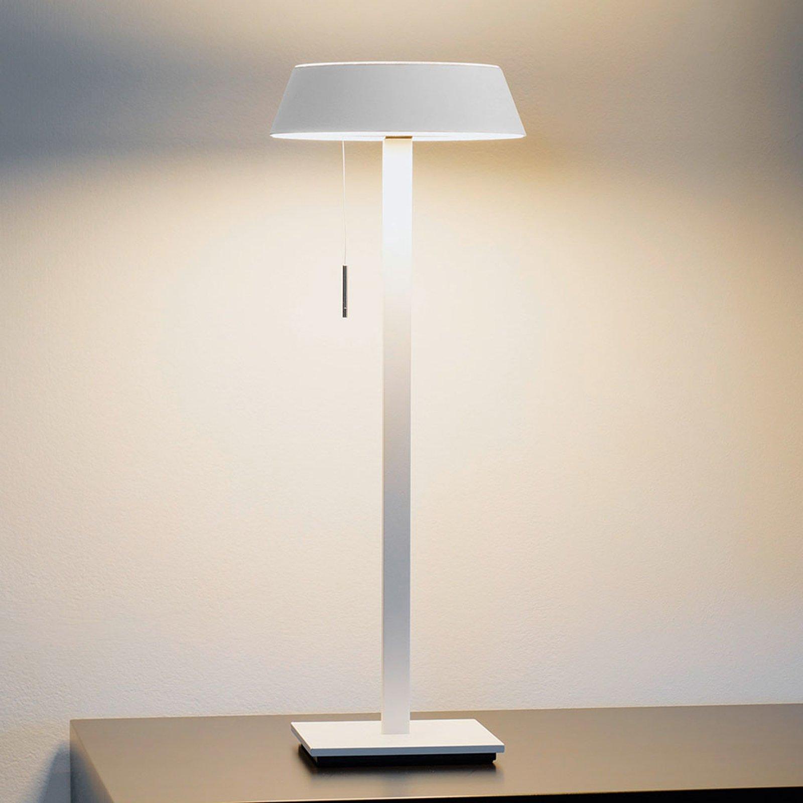 OLIGO Glance LED-bordlampe, hvit matt