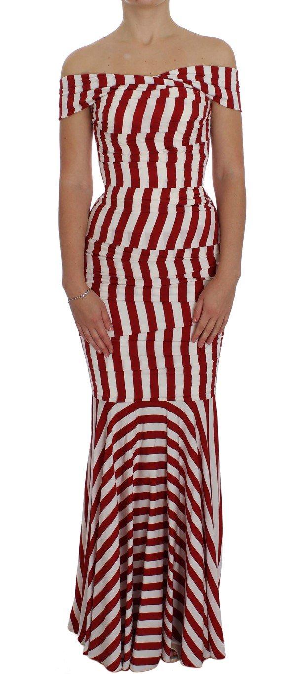 Dolce & Gabbana Women's Silk Stretch Dress Red NOC10086 - IT40|S