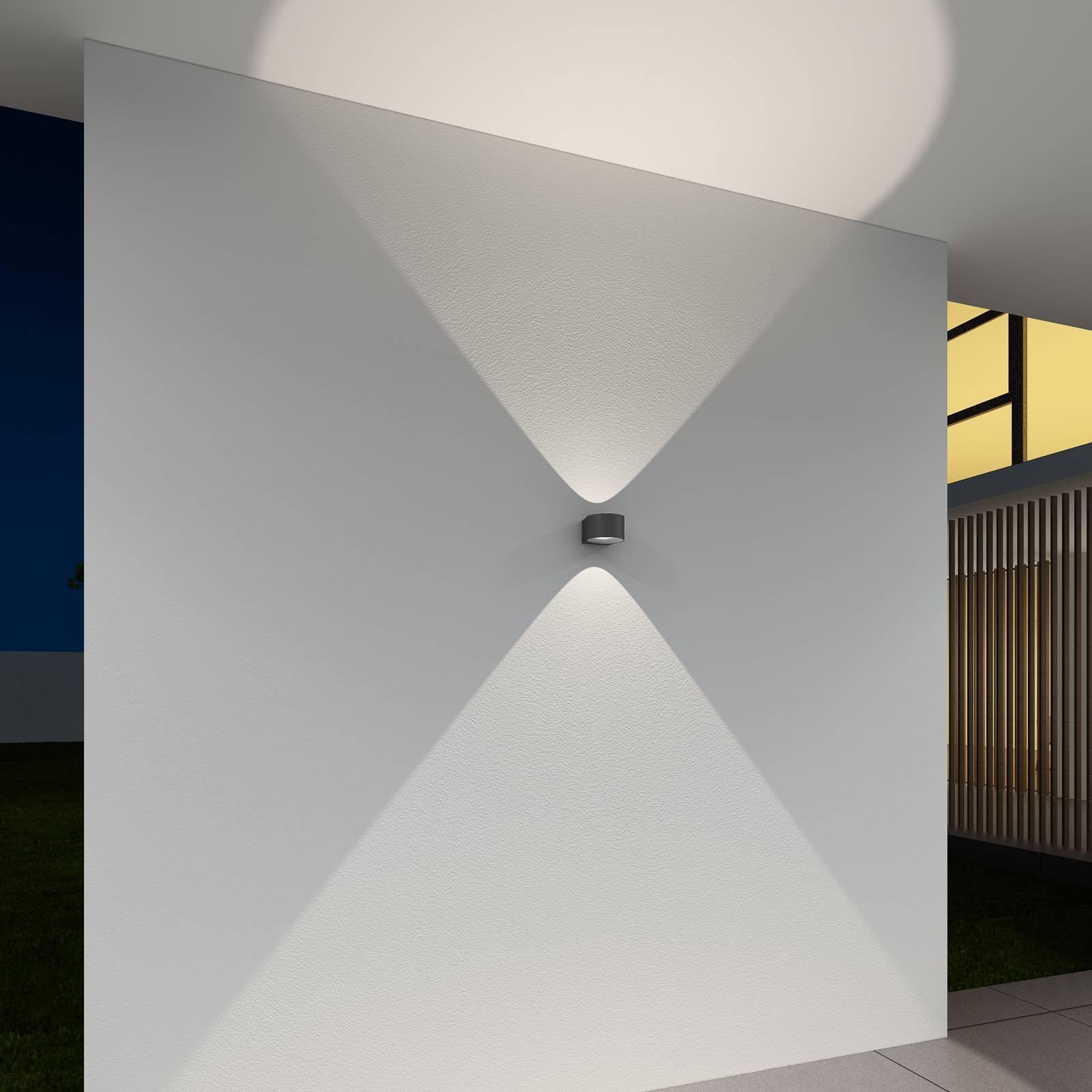 LED-utevegglampe CMD 9029 med glasslinse