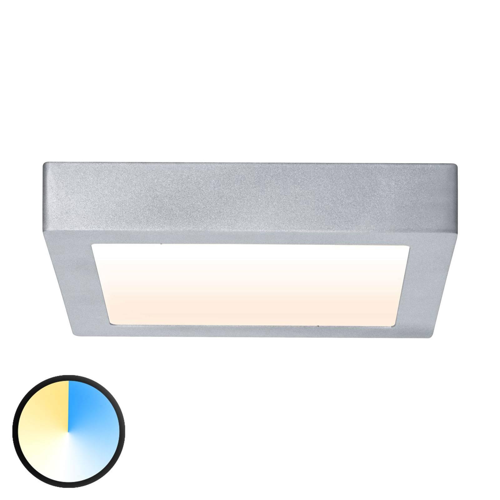 Paulmann Carpo -LED-kattovalaisin 22,5 x 22,5 cm
