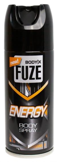 BodyX Fuze Energy Deo Spray 150 ml