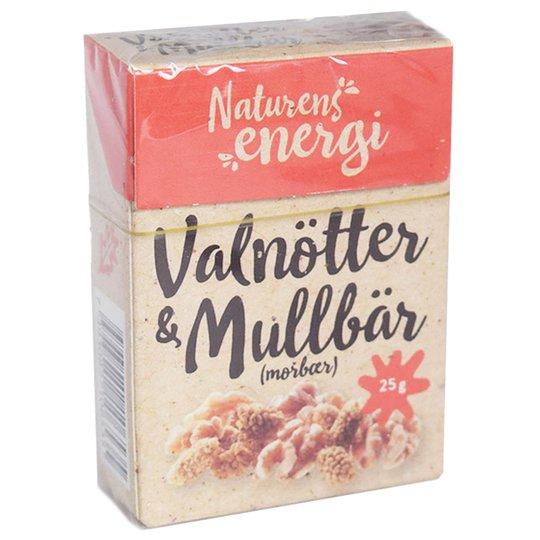 """""""Valnötter & Mullbär"""" 25g - 22% rabatt"""