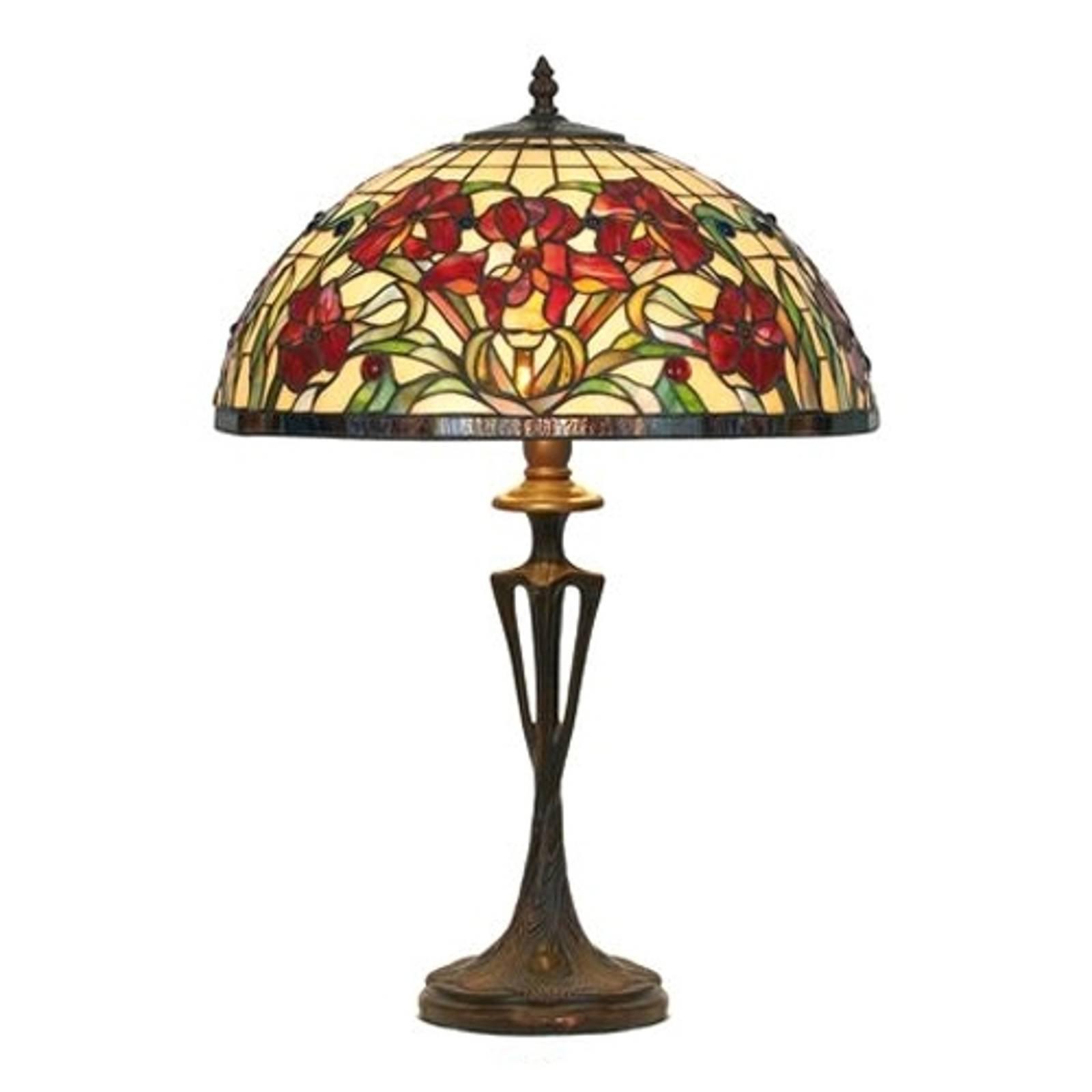 Eline bordlampe i Tiffany-stil