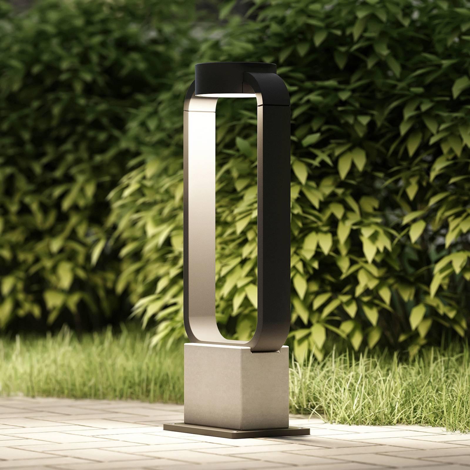 Lucande Belna -LED-pollarivalaisin, 45 cm