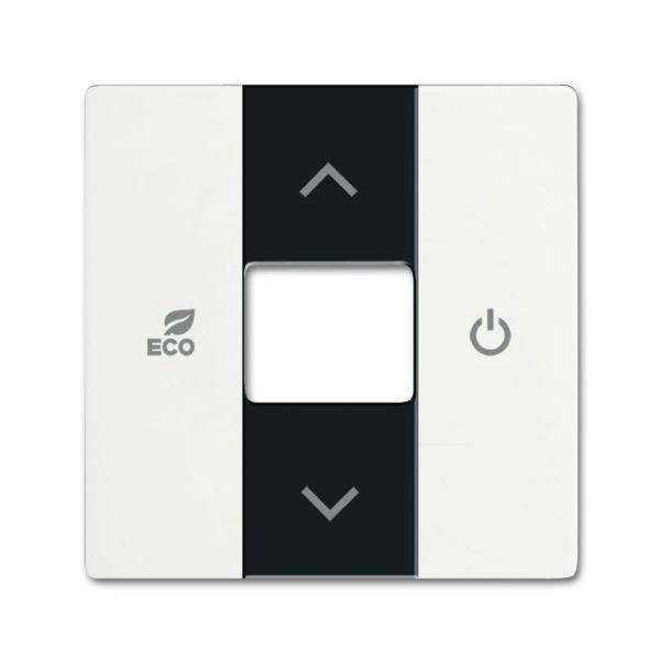 ABB Future Linear 6220-0-0614 Keskiölevy termostaatti valkoinen