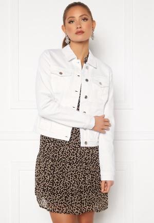 VERO MODA Hot Soya LS Denim Jacket Bright White XS