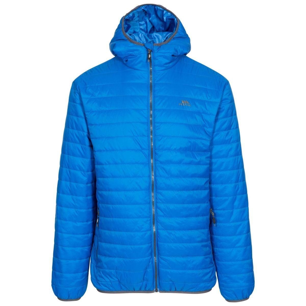 Trespass Men's Quilted Downtouch Jacket Blue Dunbar - Blue S
