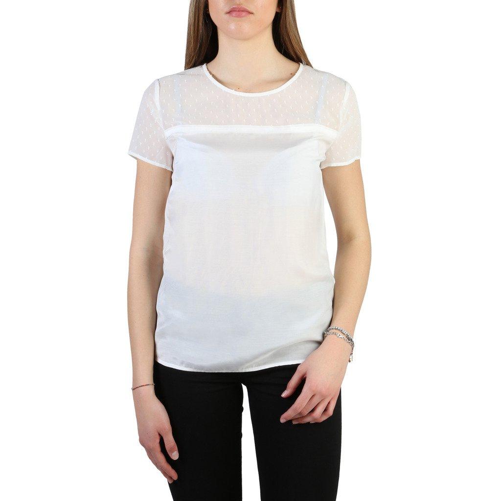 Armani Jeans Women's T-Shirt White 305028 - white 44 EU