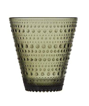 Kastehelmi Glass 30 cl Mosegrønn 2-pakning
