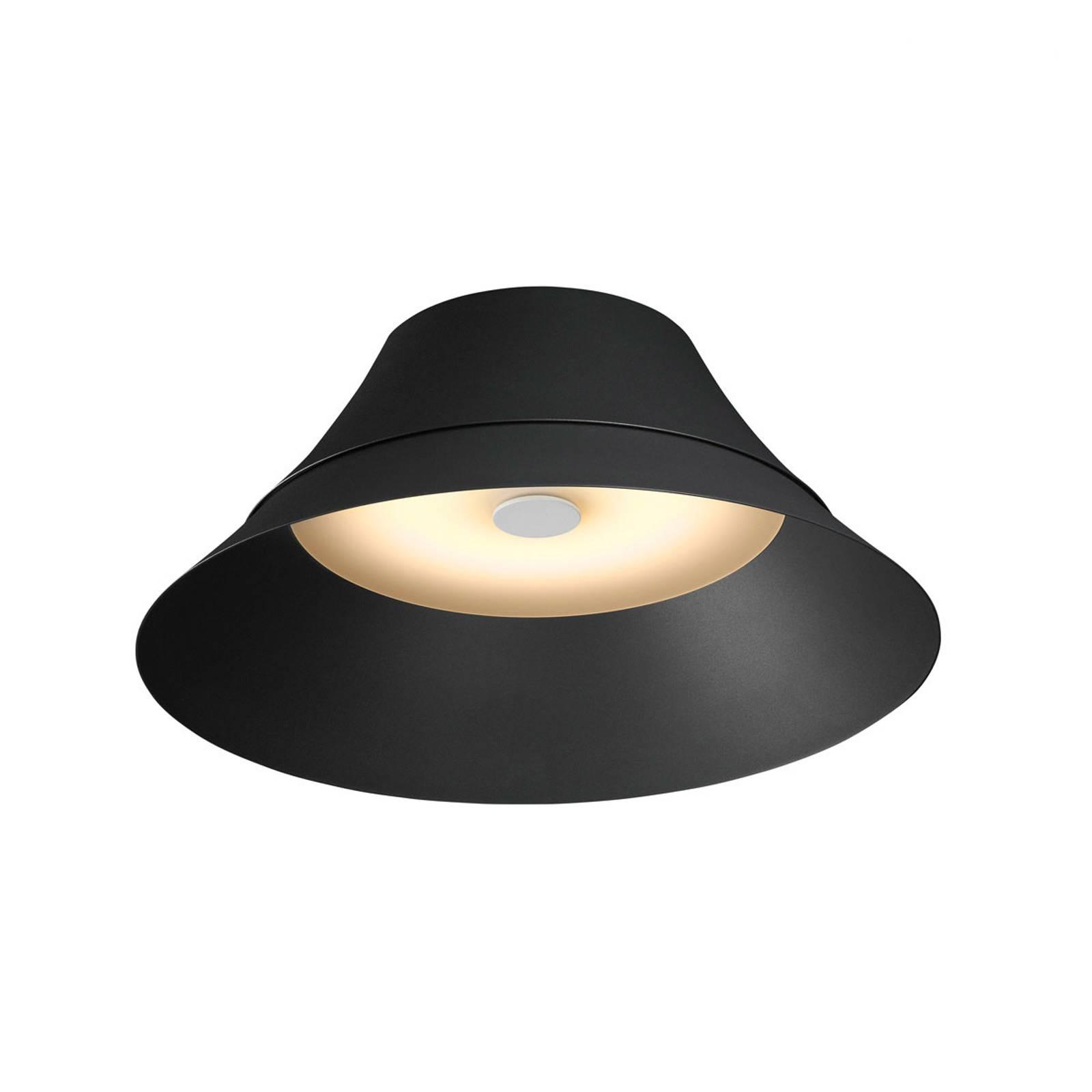 SLV Bato 45 -LED-kattovalaisin, musta