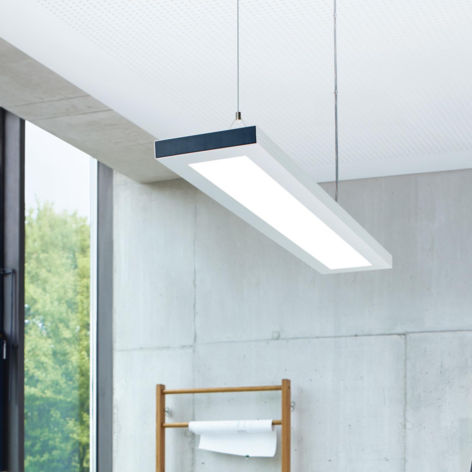 LED-riippuvalaisin Lavigo DPP16000/840/D EL hopea
