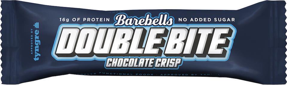 Barebells Proteinbar Double Bite Chocolate Crisp 55g