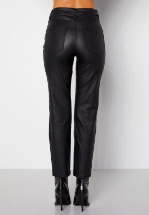 Happy Holly Maja coated pants Black 42