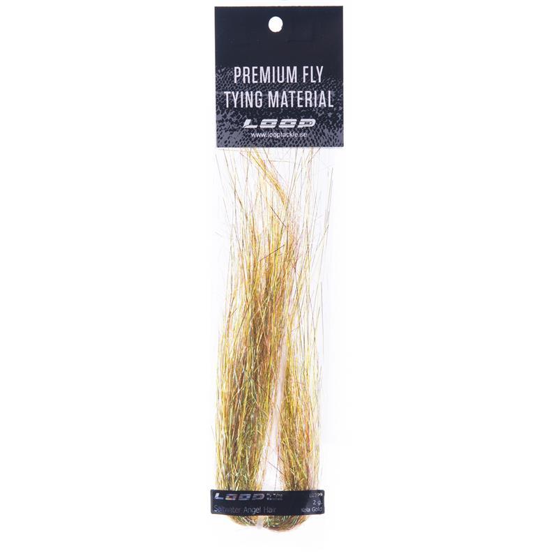 Loop SW Angel Hair 2g - Kola Gold Perfekt til saltvannsfluer!