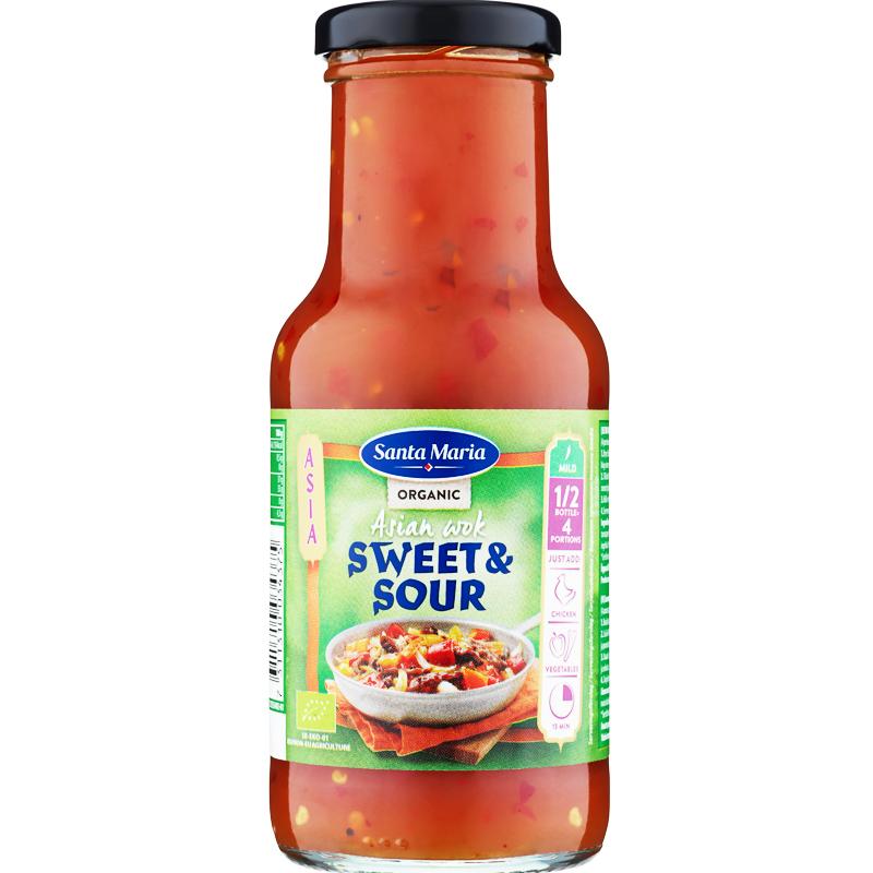 Woksauce Organic Sweet & Sour - 34% rabatt