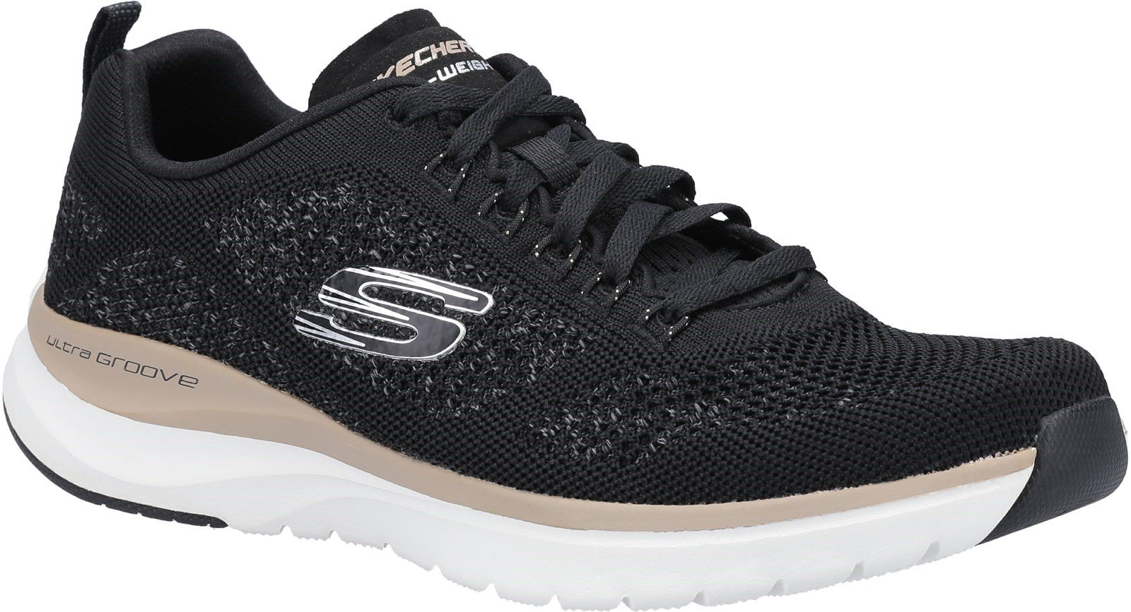 Skechers Unisex Ultra Groove Royal Dragon Trainers Various Colours 30355 - Black 6