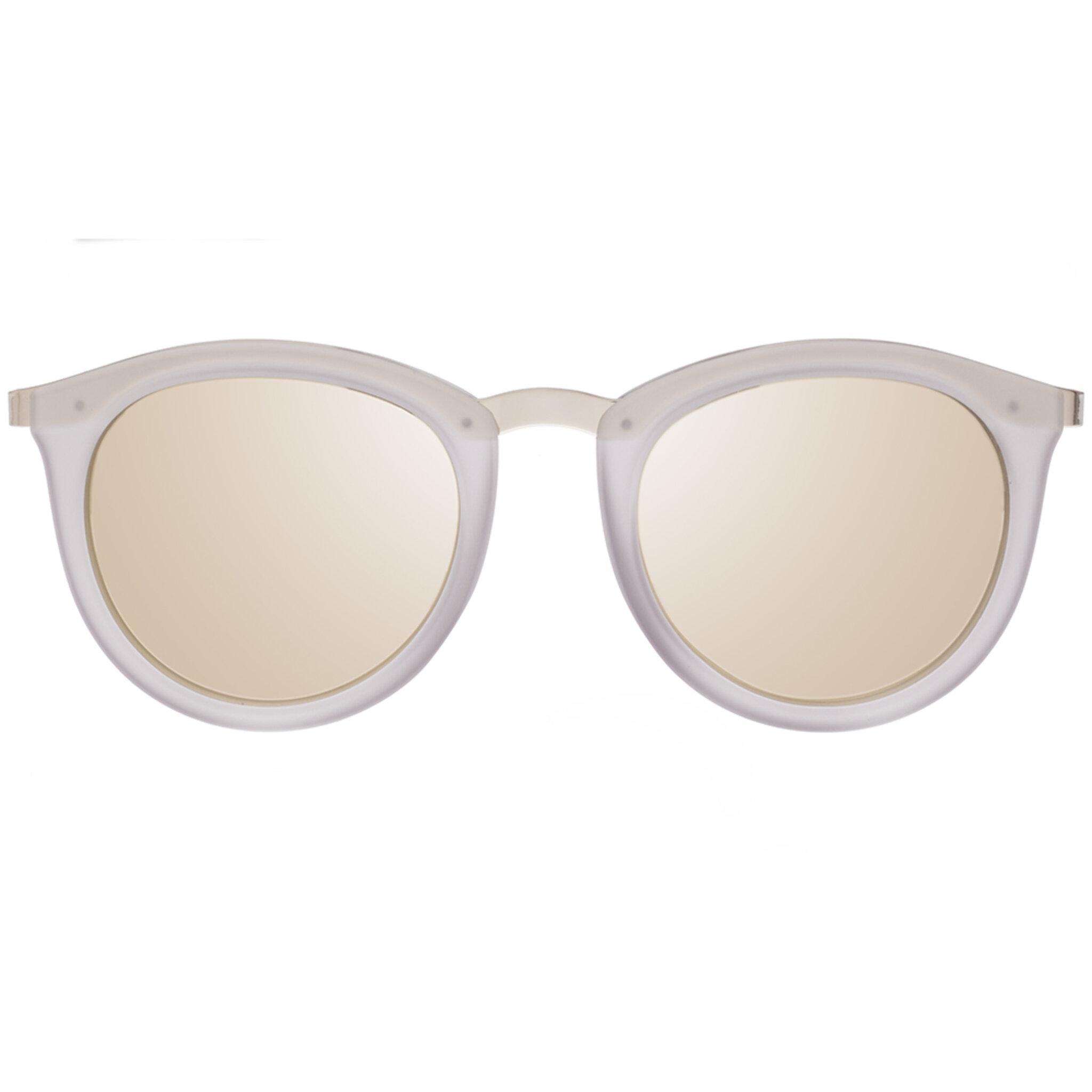 No Smirking Polarized, ONESIZE, mist matte w/ gold revo mirror lens polarized
