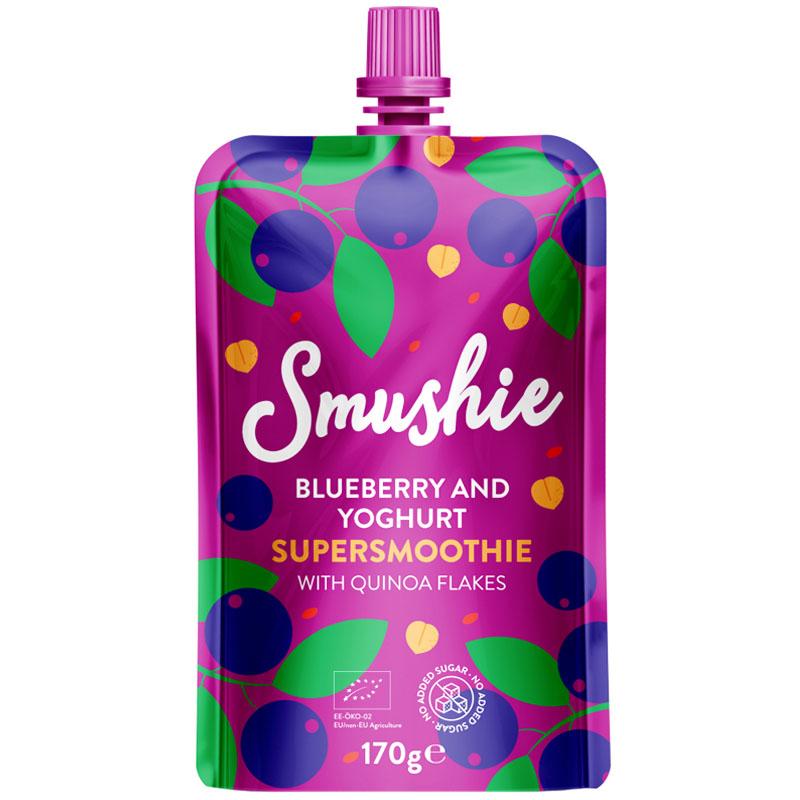 "Eko Smoothie ""Blueberry & Yoghurt"" 170g - 34% rabatt"