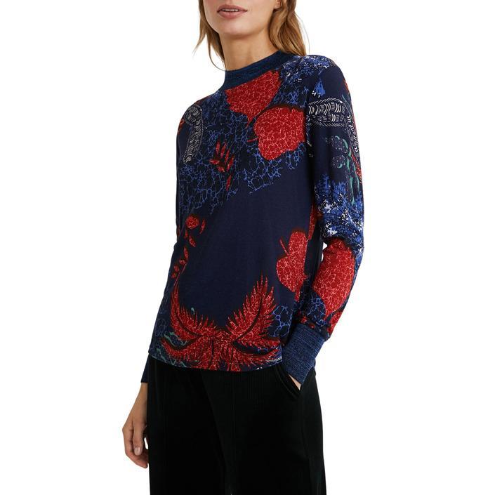 Desigual Women's T-Shirt Blue 184361 - blue XL