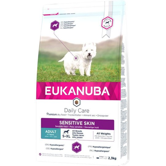 Eukanuba Daily Care Adult Sensitive Skin All Breeds (2.3 kg)