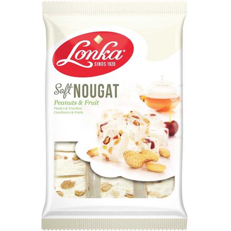 """Nougat """"Peanut & Fruit"""" 210g - 34% rabatt"""