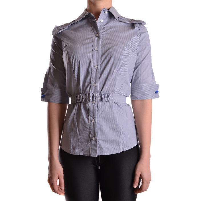 Elisabetta Franchi Women's Shirt Blue 161195 - blue 42