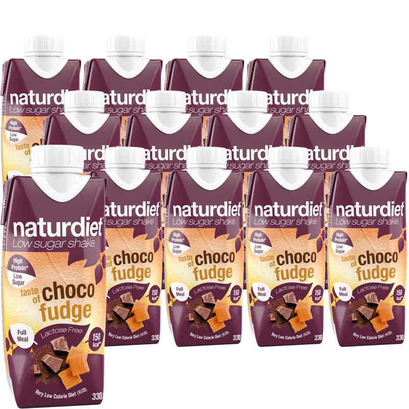 Ruokavalionkorvike Choco Fudge 12kpl - 21% alennus