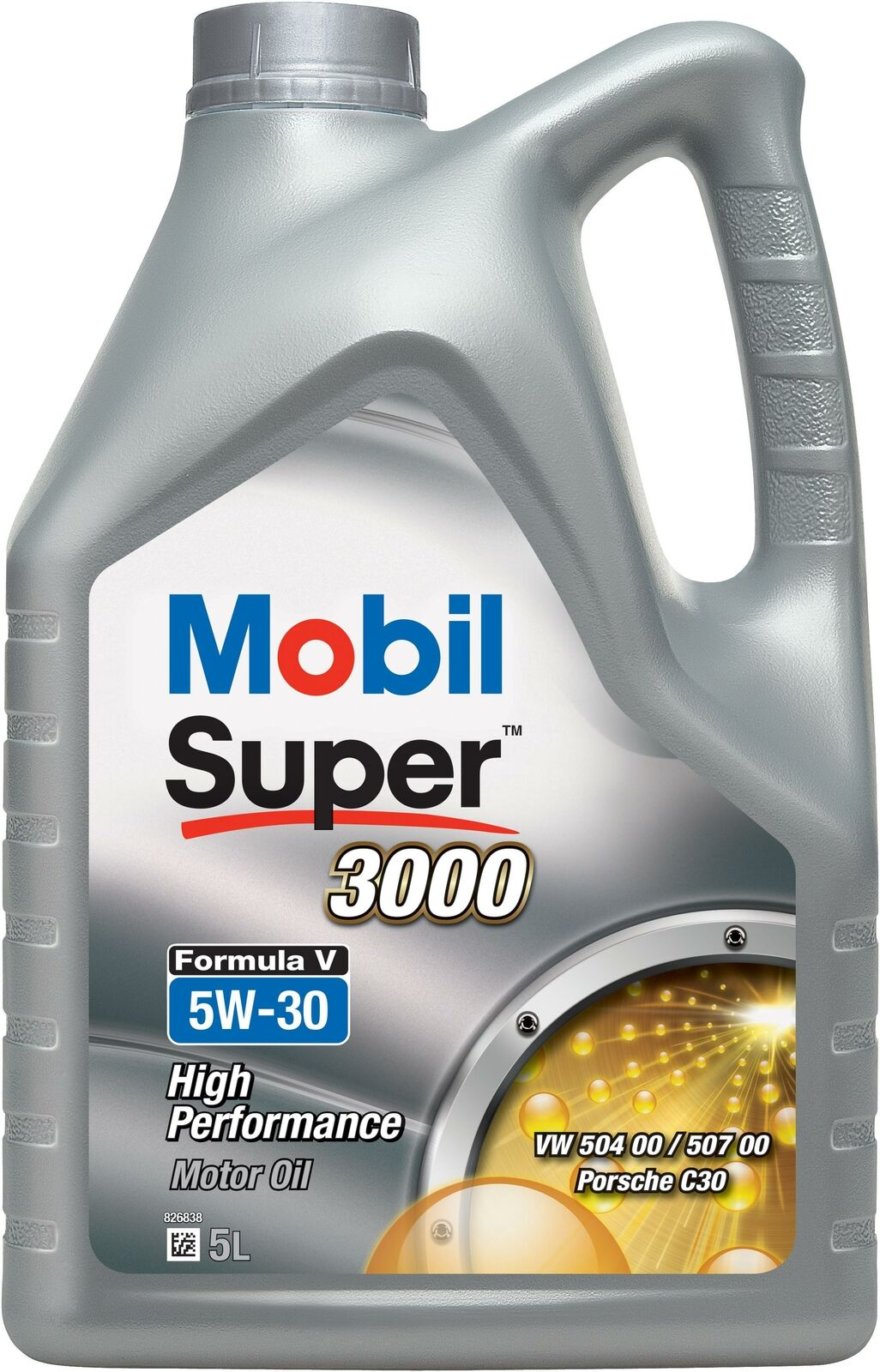 Moottoriöljy MOBIL 5W30 SUPER 3000 FORMULA V 5L