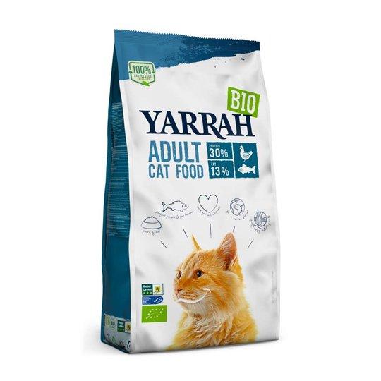 Yarrah Organic Cat Adult Fish (10 kg)
