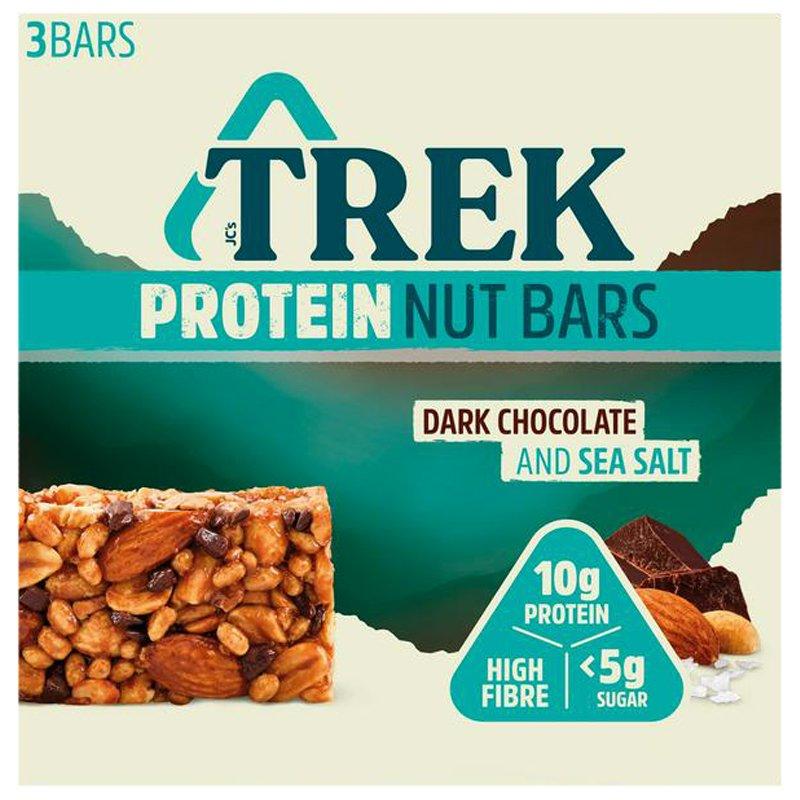 Proteiinipähkinäpatukat Tumma Suklaa & Merisuola 3kpl - 29% alennus