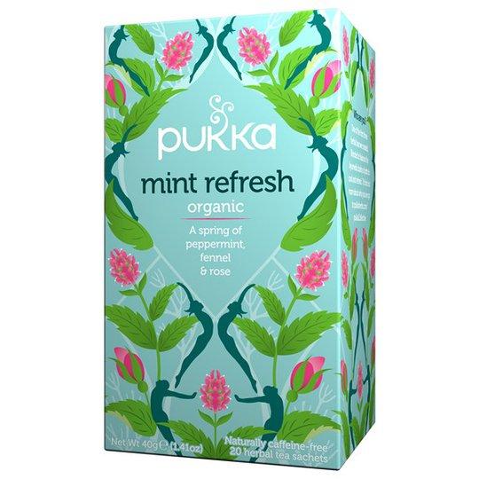 Pukka Herbs Örtte Mint Refresh, 20 påsar