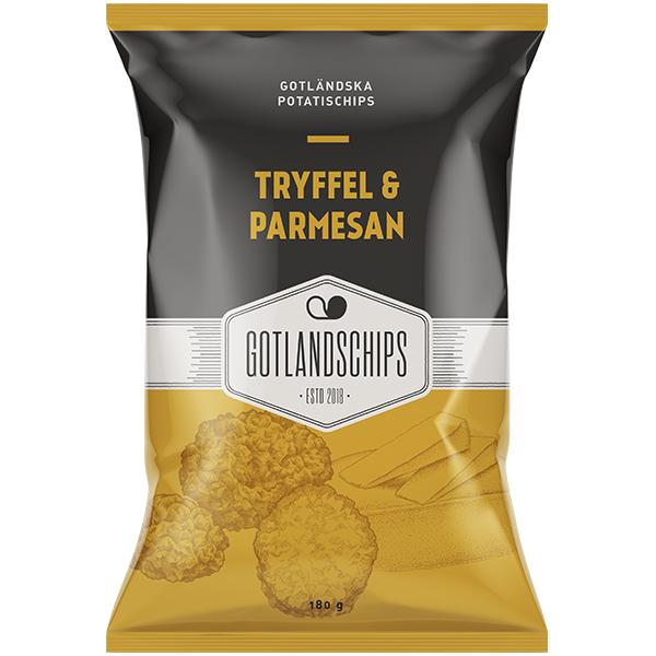 Gotlandschips Tryffel Parmesan 180G