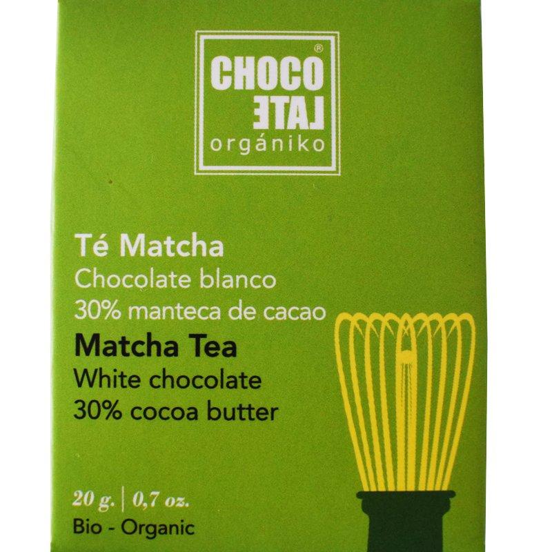Eko Vit choklad med matcha te - 25% rabatt