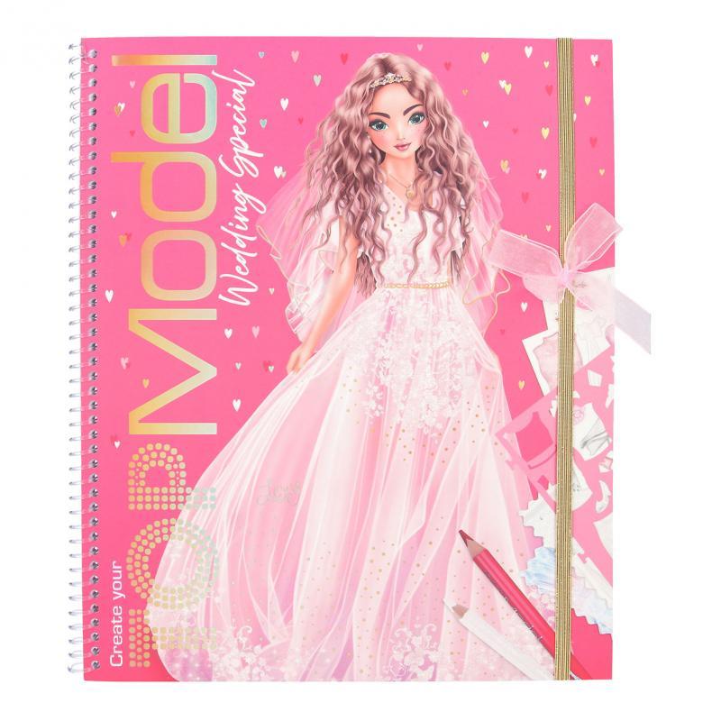 Top Model - Colouring Book - Create your Wedding (0411491)
