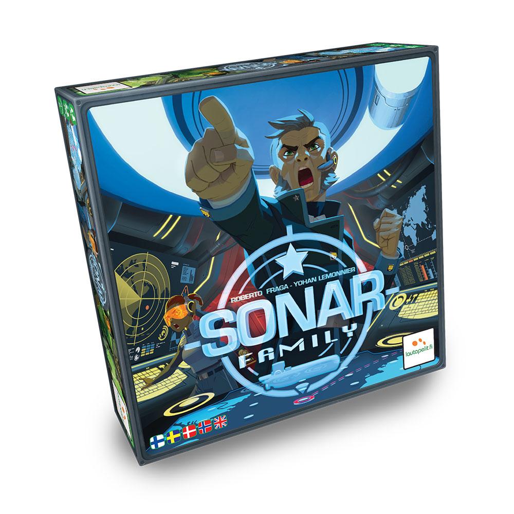 Captain Sonar Family - Boardgame (Nordic) (LPFI7499)