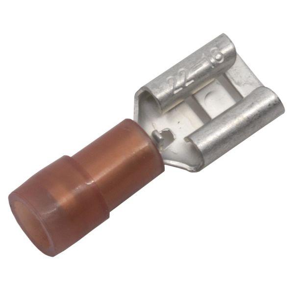 Abiko KA1507FLS-CP Kabelsko flatstiftpipe, 10-pakning