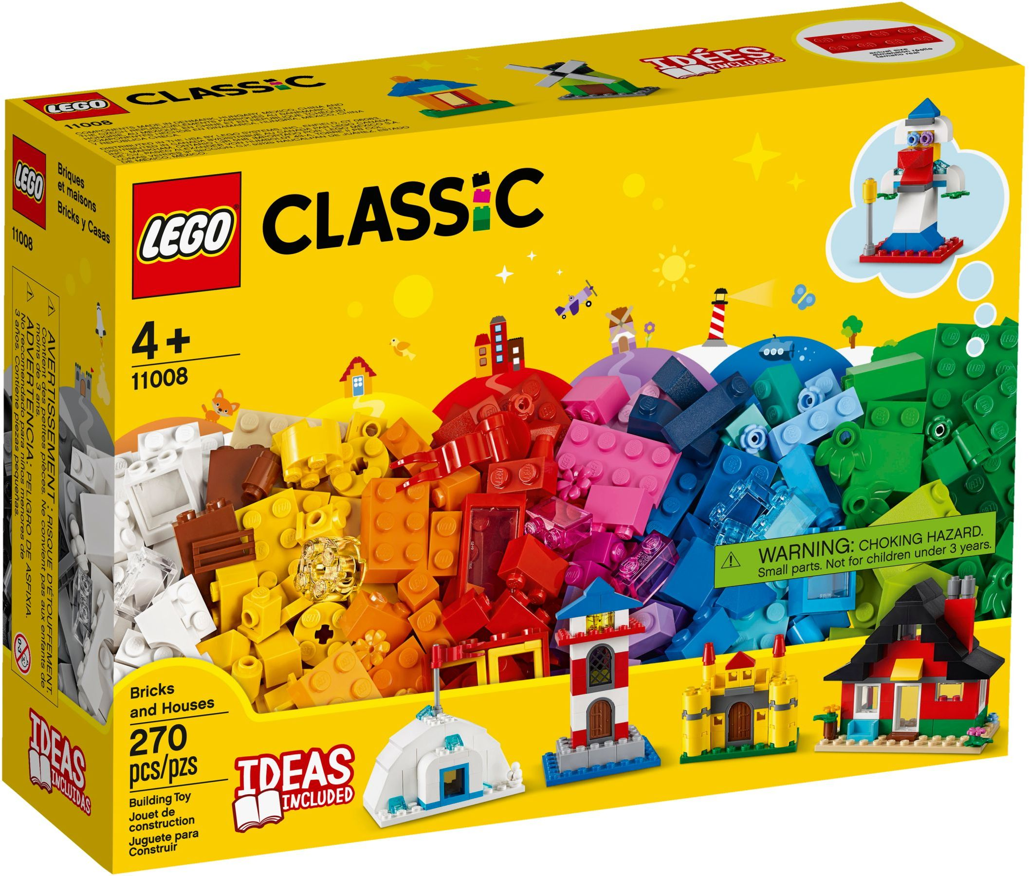 LEGO Classic - Bricks and Houses (11008)