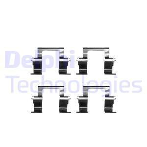 Tarvikesarja, jarrupala DELPHI LX0283