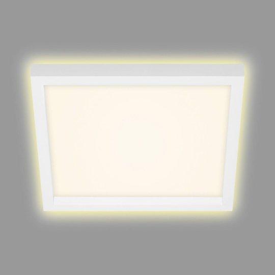 LED-taklampe 7362, 29x29 cm hvit