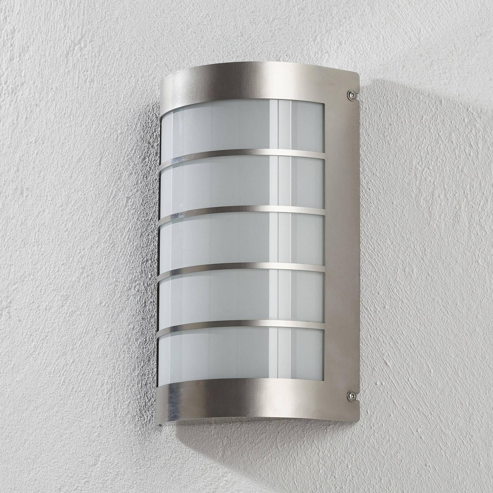 Aqua Marco -LED-valaisin tunnistimella teräs