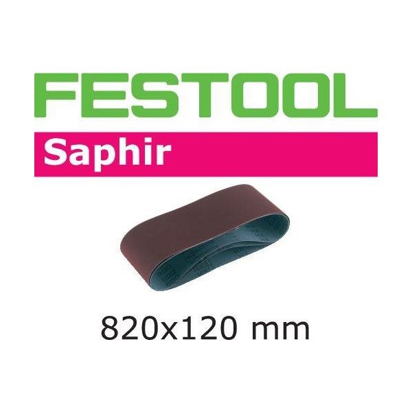 Festool SA Hiomanauha CMB120, 820x120 mm, 10 kpl P50