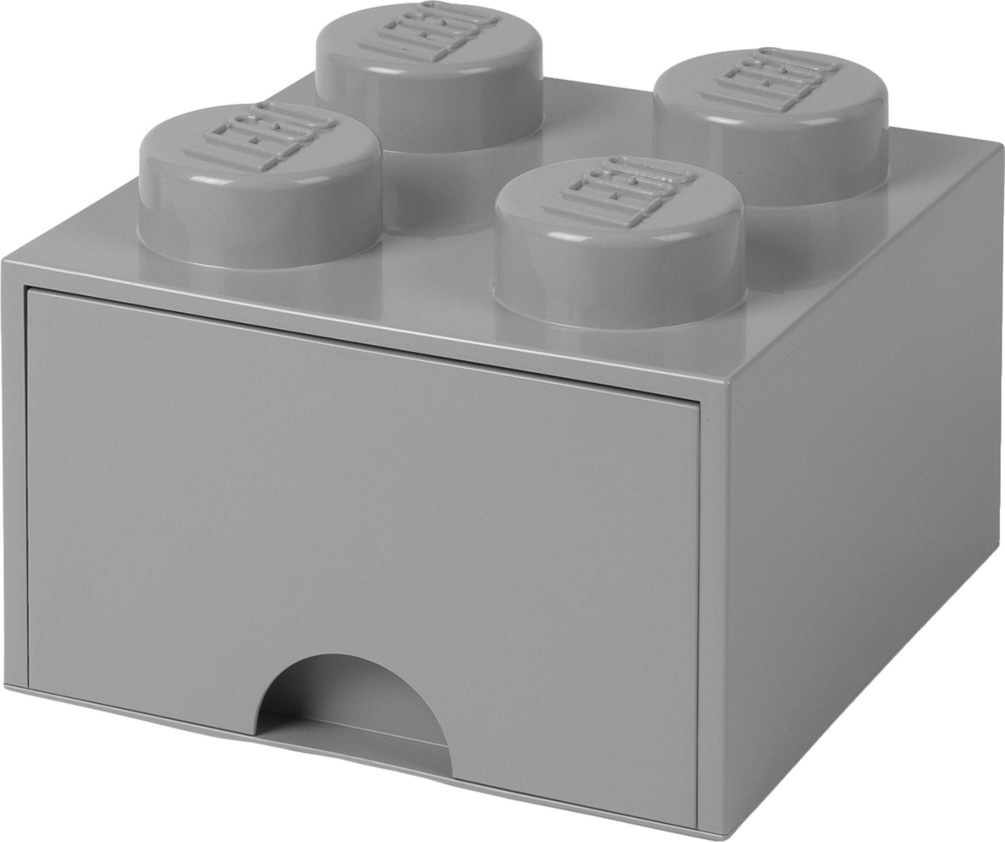 LEGO Säilytyslaatikko 4, Harmaa