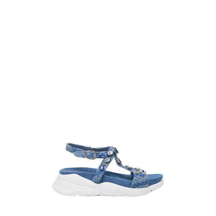 Desigual - Desigual Women Slip On Shoes - blue 40