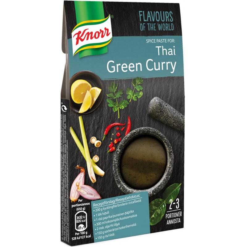 """Kryddpasta """"Thai Green Curry"""" 57g - 75% rabatt"""