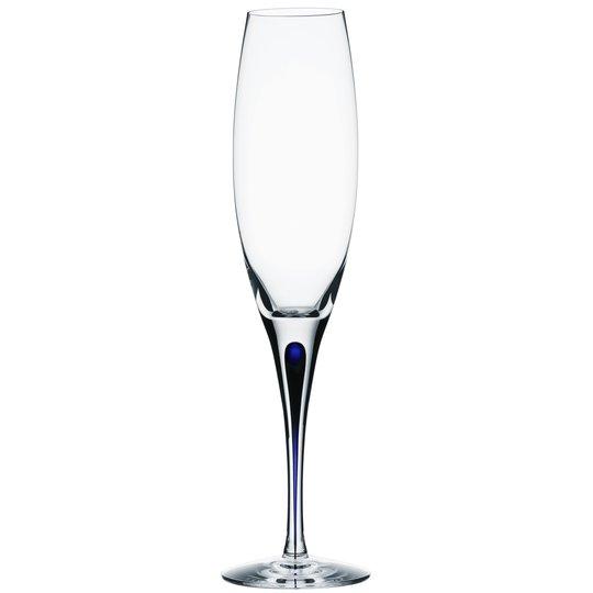 Orrefors - Intermezzo Blå Champagneglas 26 cl