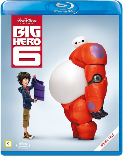 Disney Big Hero 6 Blu-Ray