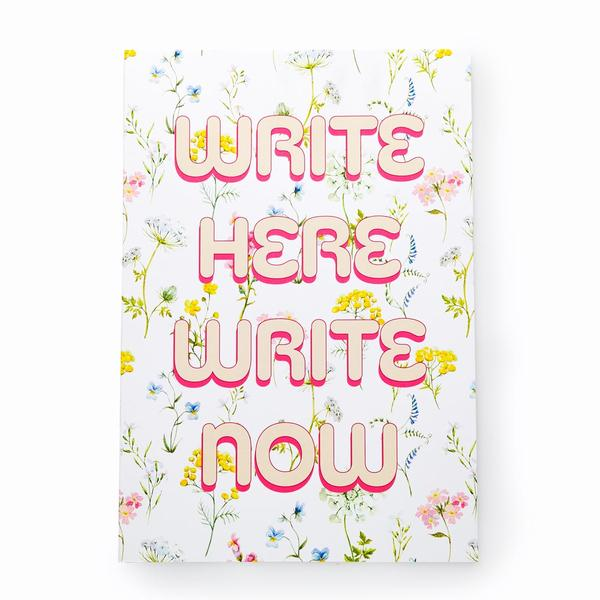 Urban Outfitters x Ohh Deer Write Here Write Now A4ish Notebook