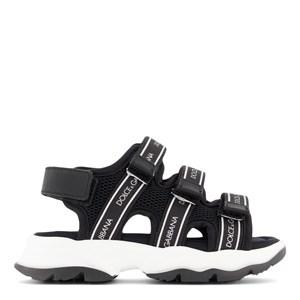 Dolce & Gabbana Logo Sandals Black 33 (UK 1)