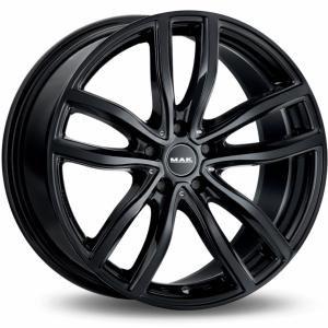 MAK Fahr Gloss Black 9x18 5/120 ET44 B72.6